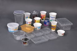 Plastic Disposal Food Container