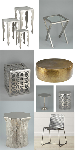 Metal Stool And Chair