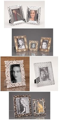 Wood And Metal Photo Frames