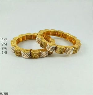 Attractive Fancy Pearl Bangles