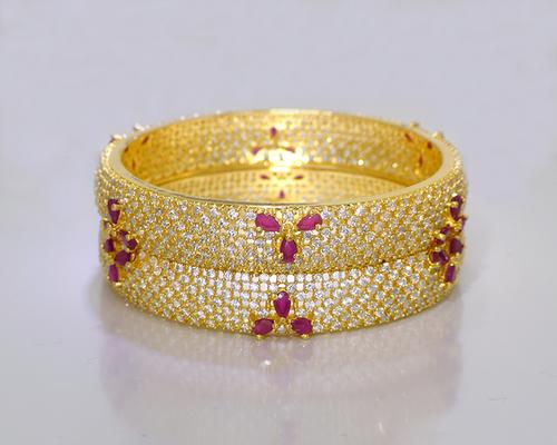 Fashionable American Diamond Bangles