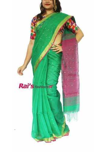 Handloom Saree With Matching Blouse At Best Price In Kolkata West Bengal Rais Fashions