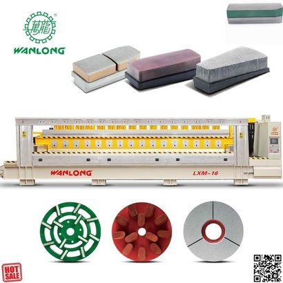 Speed Cnc Router Automatic Stone Line Polishing Machine Air Pressure: 20-50 Pa