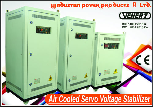 Air Cooled Automatic Servo Controlled Ac Voltage Stabilizer