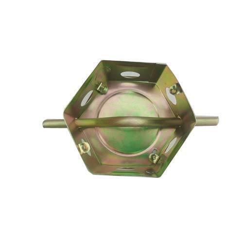Hexagonal GI Fan Box