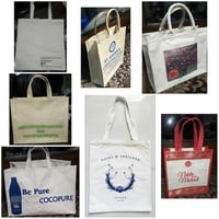 Printed Cotton Carry Bags
