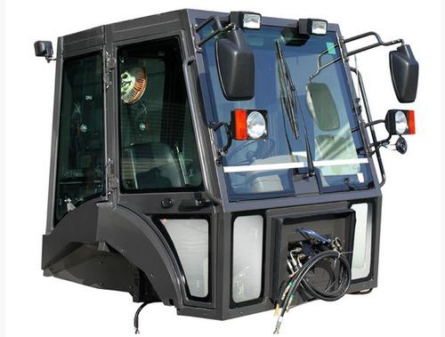 Backhoe Loader Driver Cabin