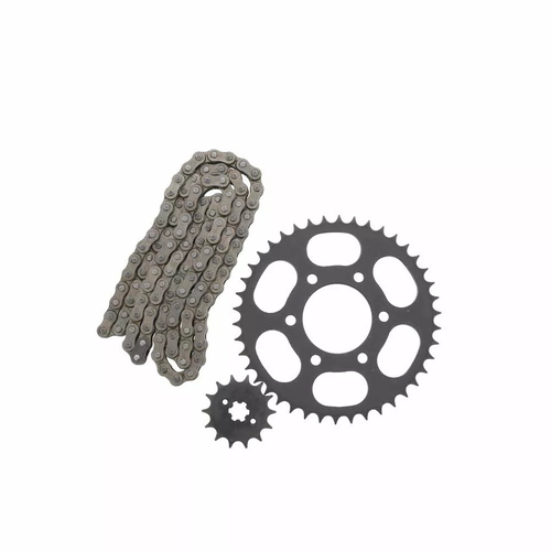 Motorcycle Trasmission Kit Chain Sprockets Set For Bajaj Boxer BM100