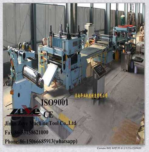 Steel Coil Decoiler-Straightener-Stacking Line at Best Price