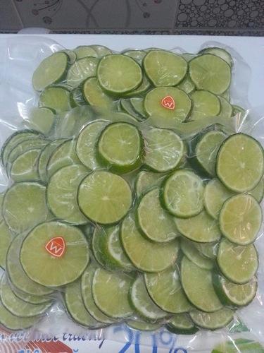 Slice Cut Frozen Lime