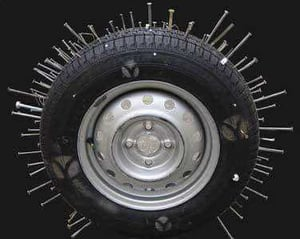 Tyre Protection Lock