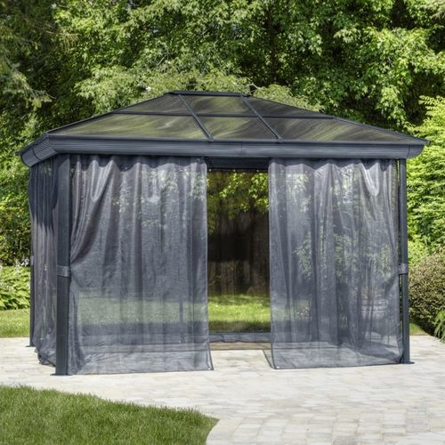 Metal Roof Portable Gazebo Canopy