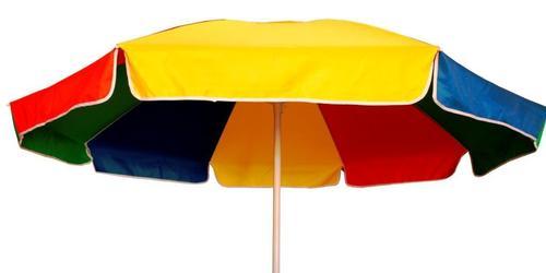 Multi Color Winch Open Outdoor Umbrella