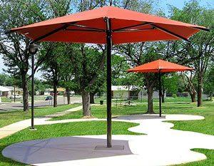 Outdoor Public Park Garden Umbrella