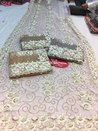 Designer Hand Work Wedding Sarees