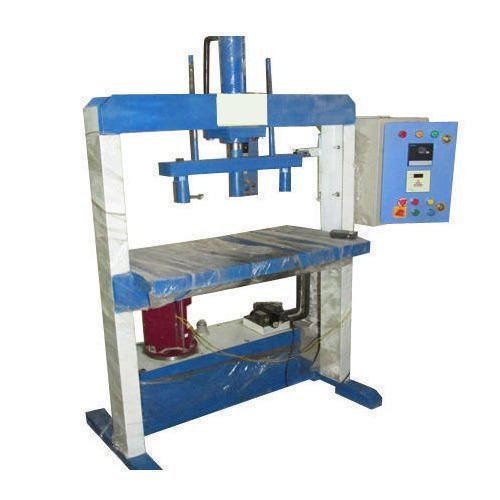 Hydraulic Double Die Single Piston Paper Plate Machine