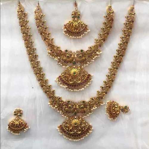 0f4fb21924c21 Fancy Bridal Necklace Set in Bengaluru, Karnataka - Shree Impex