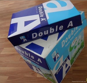 Double A A4 Copy Paper 70GSM, 75GSM, 80GSM