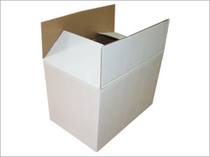 White Paperboard Corrugated Boxes