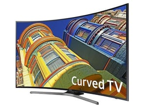 Curved 4K 55-Inch Smart TV With HDR WiFi (Samsung)