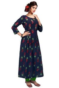 Ladies Designer Rayon And Cotton Suits