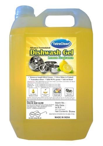 Lemon Fragrance Dishwash Gel