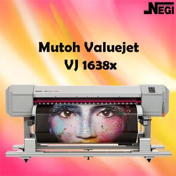 Mutoh Valuejet 1638WX High Speed Dual Head Printer