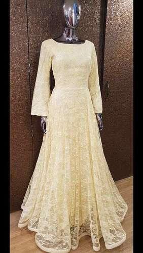 Designer Stone Work Gown