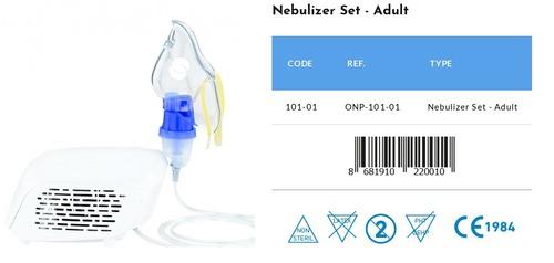 Medical Adult Nebulizer Set