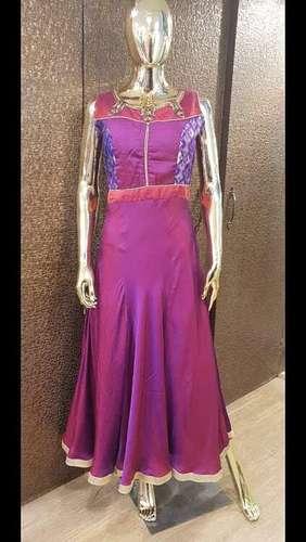 Pure Silk Designer Gown