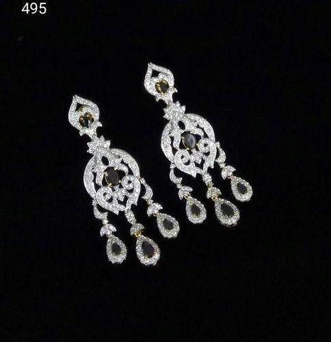 Fancy Diamond Earrings For Women