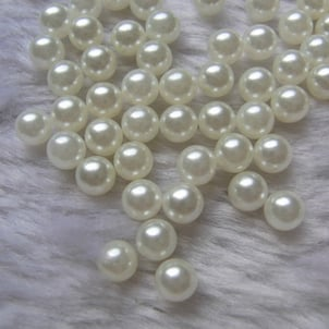 Plastic Moti/ Beads/ Pearl Without Hole