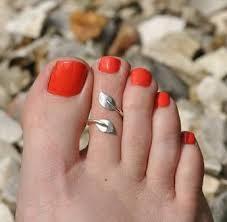 Beautiful And Fashionable Toe Ring