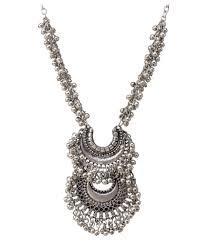 Fancy Design Metal Necklace