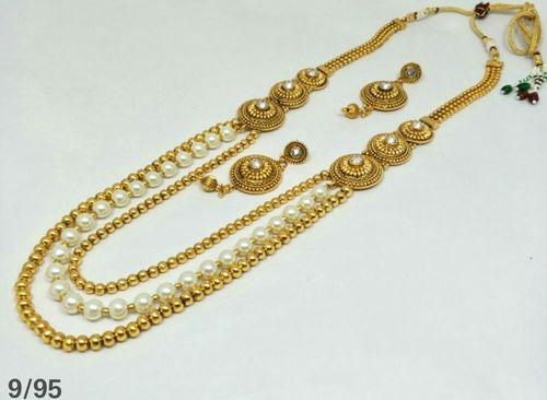Fancy Long Necklace Set