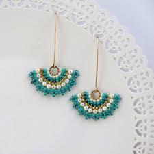 Fancy Turquoise Earrings For Women