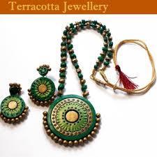 Fashionable Terracota Necklace Set