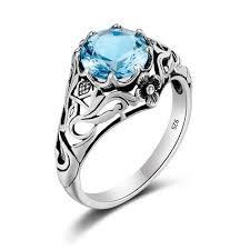 Zircon Ring For Ladies