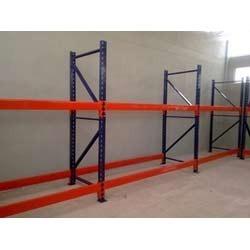 High Storage Capacity Pallet Rack System