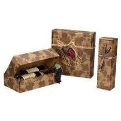 Eye Catchy Look Corrugated Wine Boxes