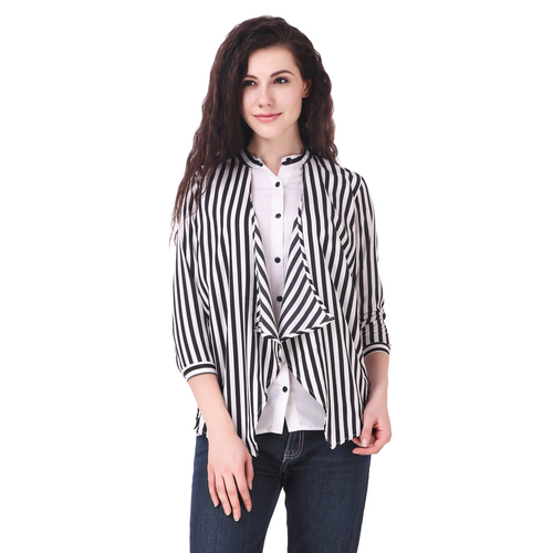 e550d452f8ab96 ... Full Sleeve Solid Women S White Top · View More · Fairiano Women  Striped Casual Shirt