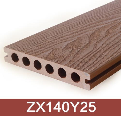 3D Wood Grain Surface WPC Composite Decking