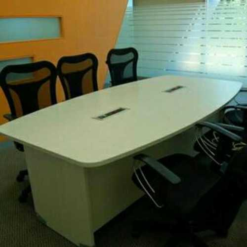 Conference Table With Popup Box