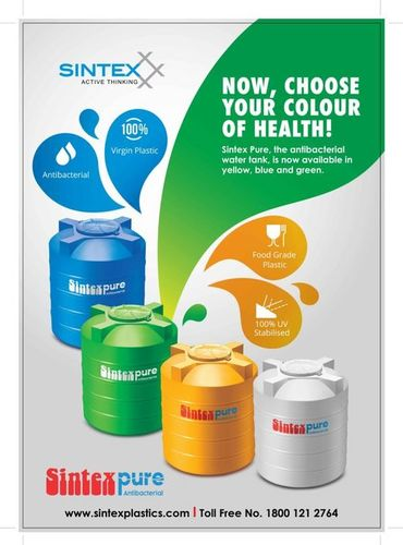 Pure Water Tanks (SINTEX)