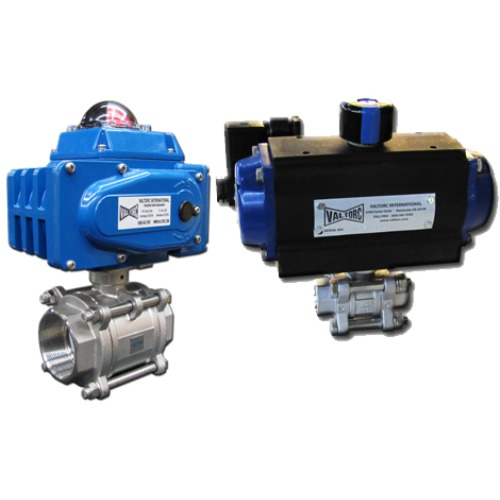 Valtorc Actuated Valve Packages