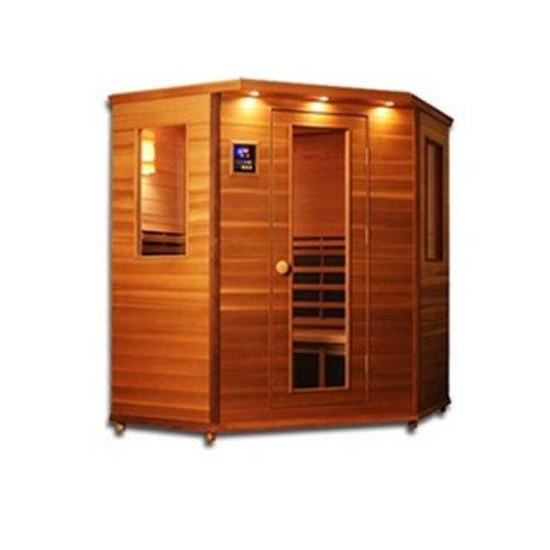 Brown Sauna Bath Four Person