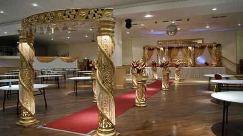 Decorative Crystal Wedding Mandap