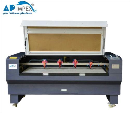 Four Head Laser Engraving Machine