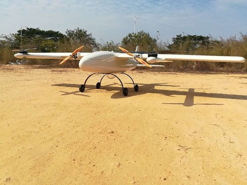 Fixed Wing Pipeline Inspection VTOL UAV(Drones) with