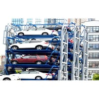Multilevel Rotary Parking Tower
